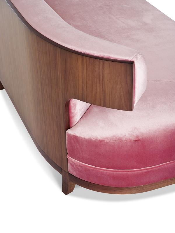 Grace Wood Sofa