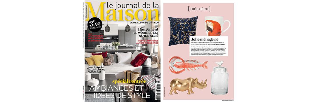 rino featured in le journal de la maison france. Black Bedroom Furniture Sets. Home Design Ideas