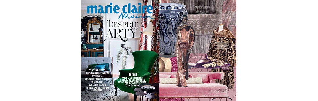 art deco grace wood sofa featured in marie claire maison france bellavista collection. Black Bedroom Furniture Sets. Home Design Ideas