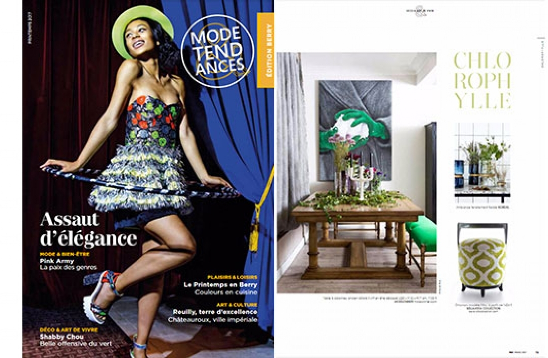MIRO FEATURED IN MODE & TENDANCES // FRANCE