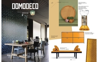 ARTHUR FEATURED IN DOMODECO // FRANCE