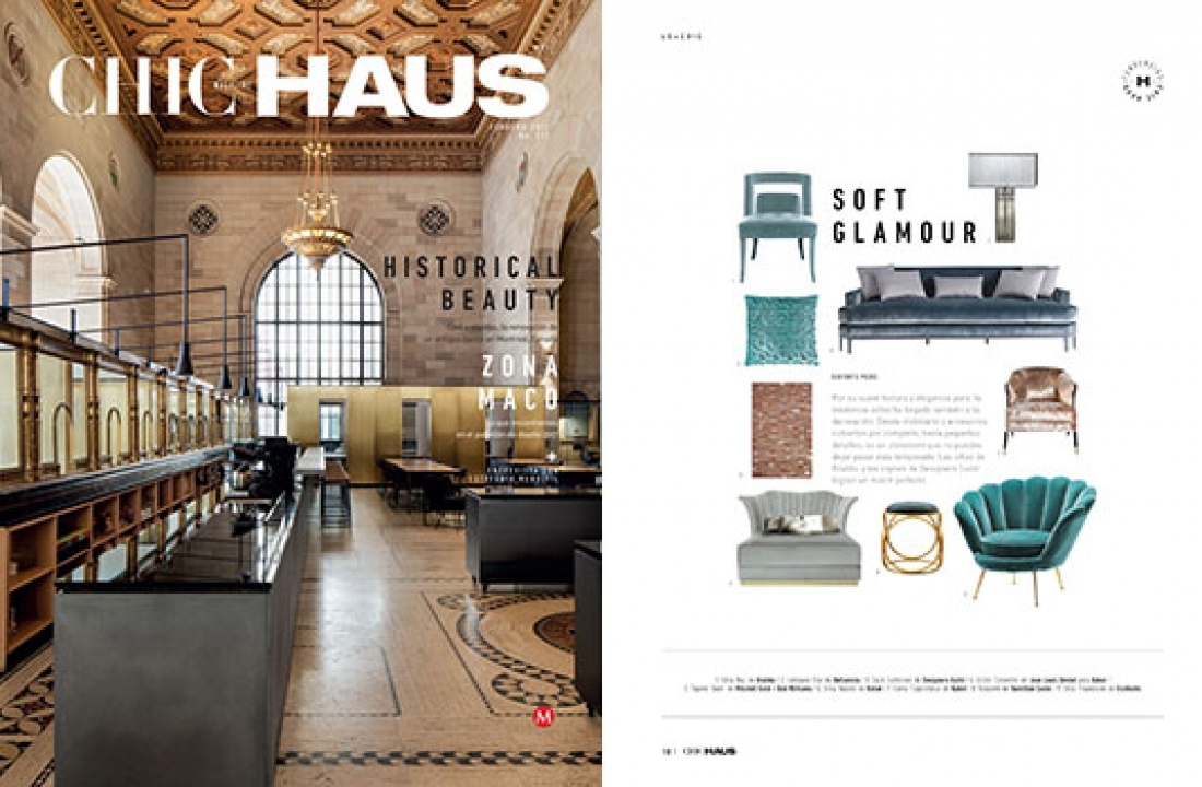 BELLAVISTA'S EVA LAMP PUBLISHED IN FEBRUARY ISSUE OF CHIC HAUS // MEXICO