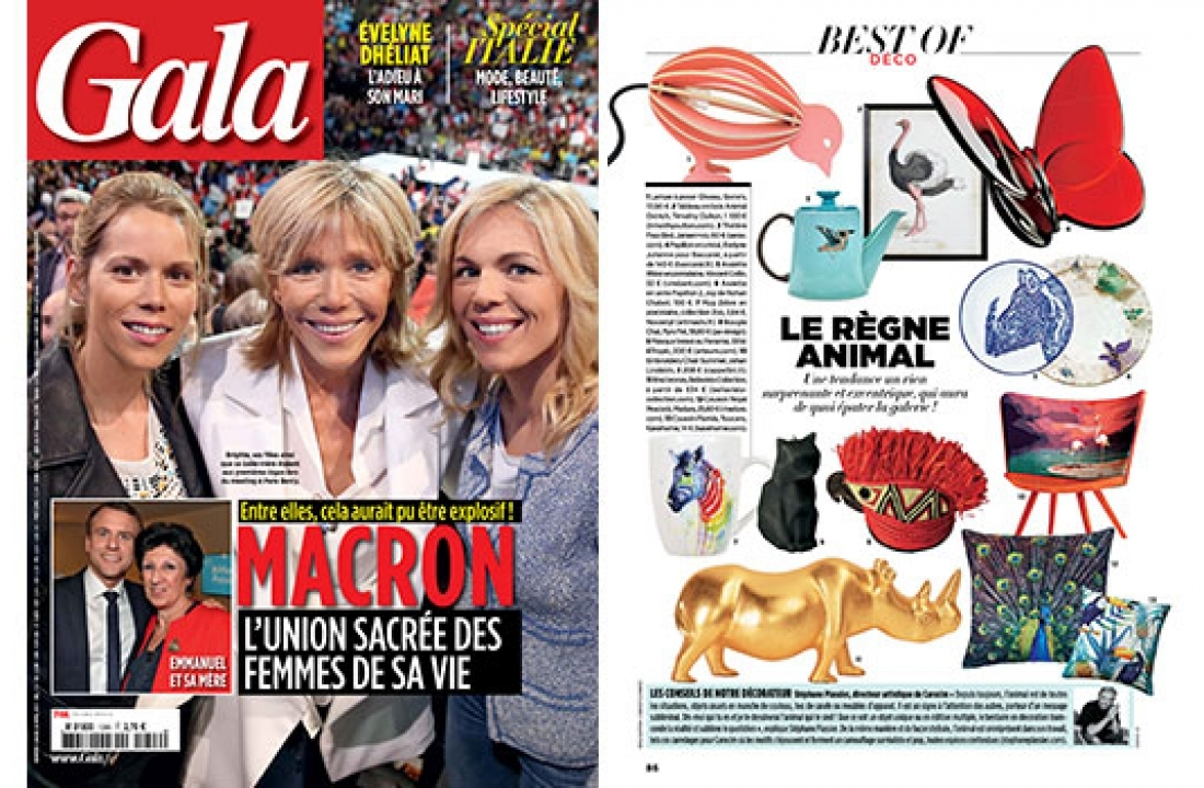 IPPO E RINO FEATURED IN GALA // FRANCE