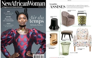 MIRO FEATURED IN NEW AFRICAN WOMAN // FRANCE