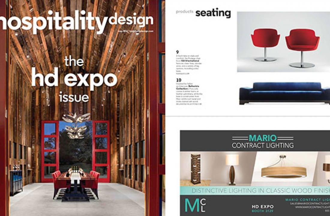 PURO FEATURED IN HOSPITALITY DESIGN // USA