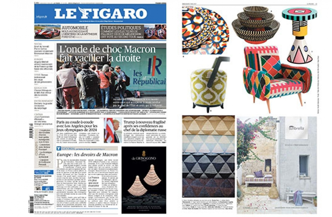 MIRO FEATURED IN LE FIGARO // FRANCE