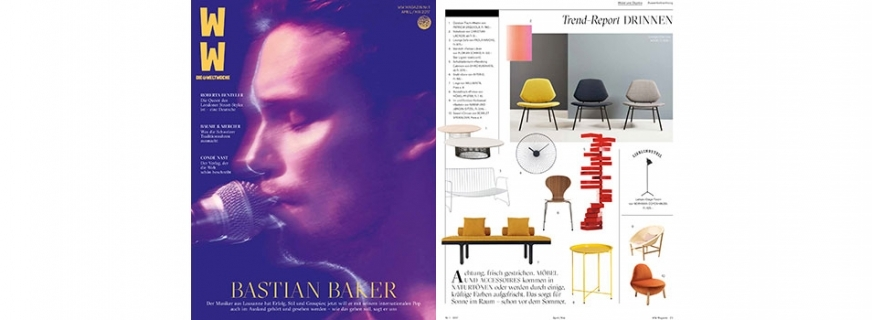 ARTHUR FEATURED IN WW MAGAZINE // SWITZERLAND