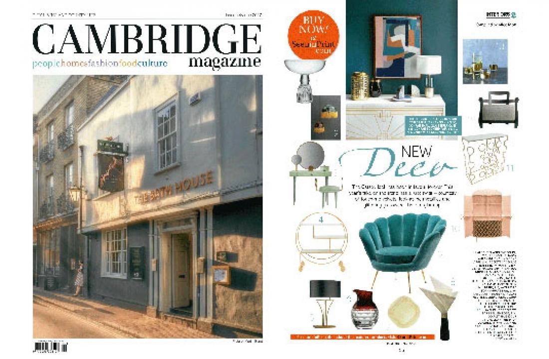 BOSS ARMCHAIR FEATURED IN CAMBRIDGE MAGAZINE // UK