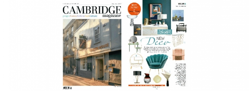 BOSS ARMCHAIR FEATURED IN CAMBRIDGE MAGAZINE // UK