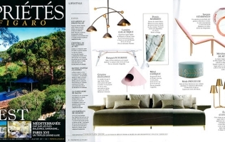 GEORGE V FEATURED IN PROPRIETES LE FIGARO // FRANCE