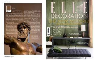 DON DIEGO FEATURED IN ELLE DECORATION // UK