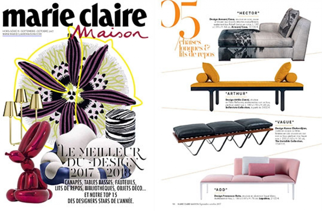 AMLETO FEATURED IN MARIE CLAIRE MAISON // FRANCE
