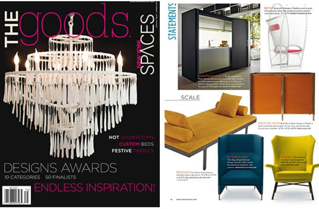 ARTHUR FEATURED IN NEW YORK SPACES – THE GOODS // USA
