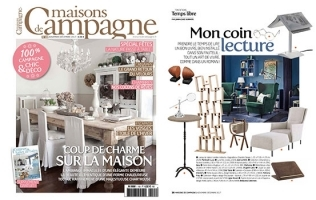 IL SAPERE FEATURED IN MAISONS DE CAMPAGNE // FRANCE