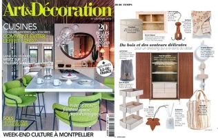 HER CUPBOARD FEATURED IN ART & DECORATION // FRANCE