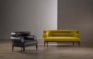 Alike but Different: PYPER Armchair and Loveseat from Bellavista's 2020 Collection