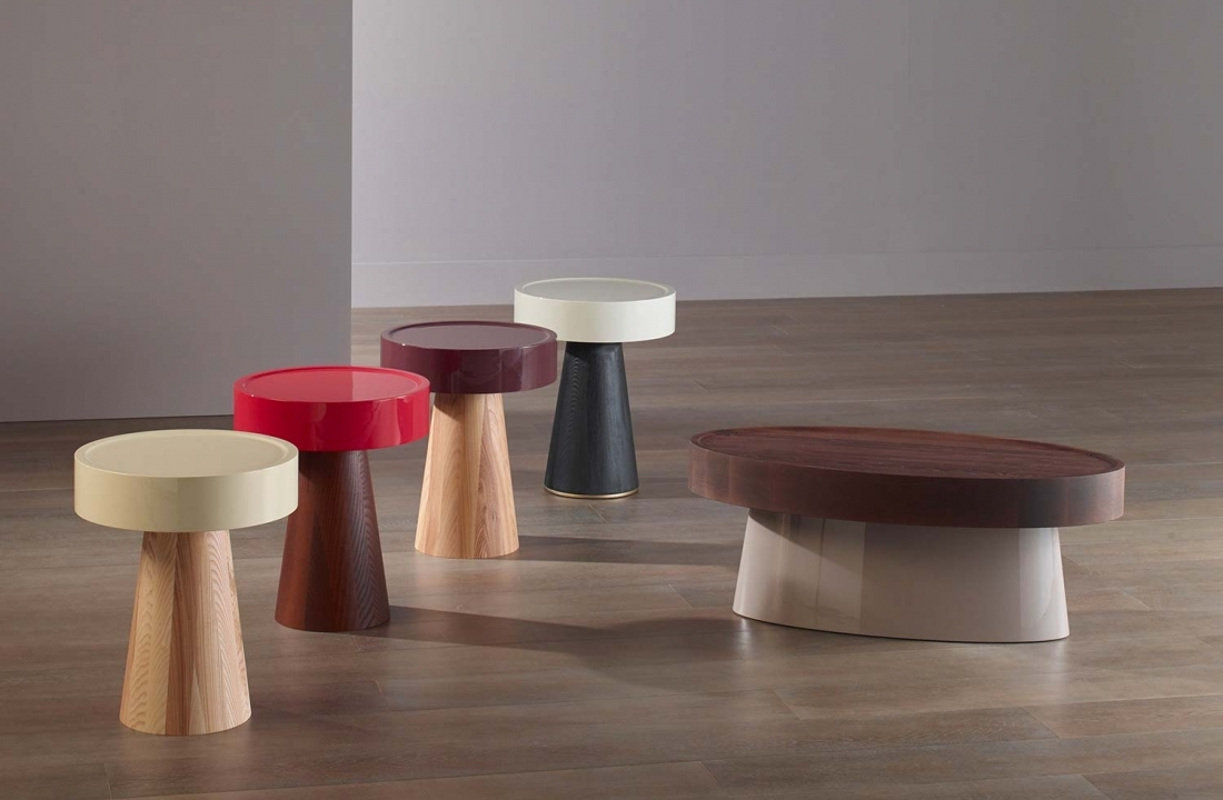 Bellavista Collection Finds Inspiration in Nature: CHAMPIGNON coffee table