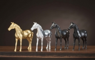 Brass Sculptures from Bellavista Collection: Artwork and Decorations