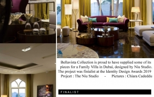 Bellavista collection featured at the Identity Design Awards